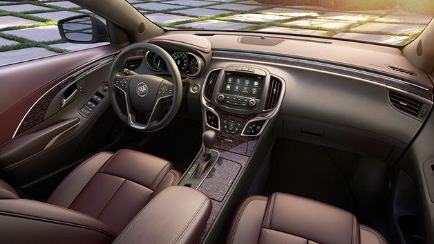 buick unveils new ultra luxury interior for lacrosse. Black Bedroom Furniture Sets. Home Design Ideas